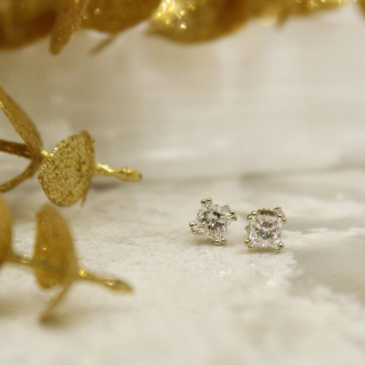 These little earrings are perfect for gift giving this Christmas. We designed and crafted them right here in our store.