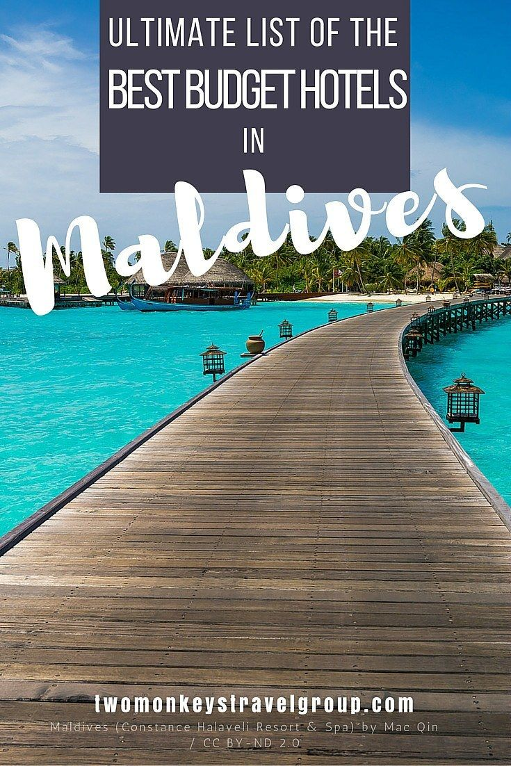 Ultimate List of The Best Budget Hotels in The Maldives