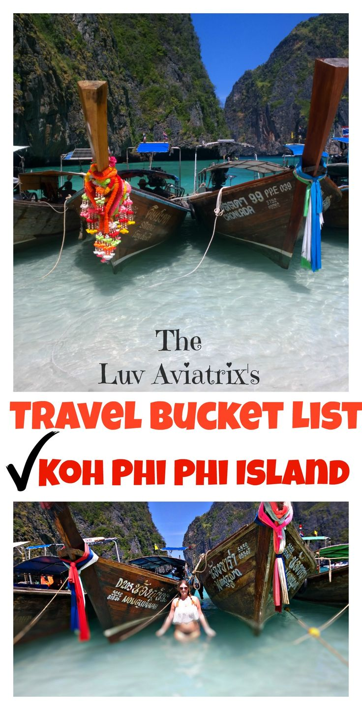 This Flight Attendant gives her opinion on Ko Phi Phi island in Thailand, the famous Maya Bay