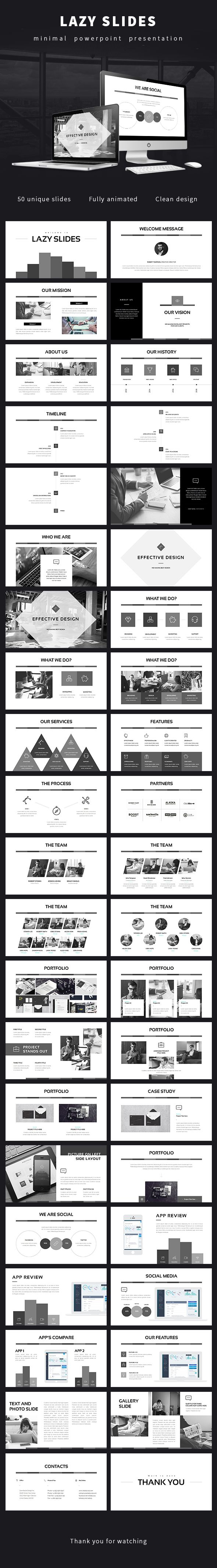 Lazy Slides - Powerpoint Presentation  #creative #entrepreneur • Download ➝…