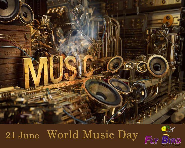 21st June, World Music Day!