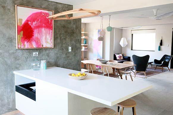 The Block Sky High: Room Reveal: Kim + Matt's living room
