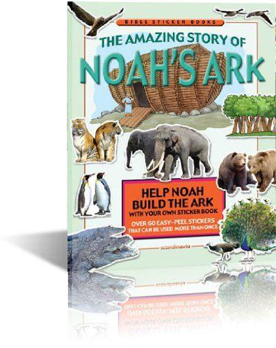 Noah, Noah Ark, Noah and the Flood, Noah and the Animals, Bible Game, Bible Sticker Book, Noah Flood