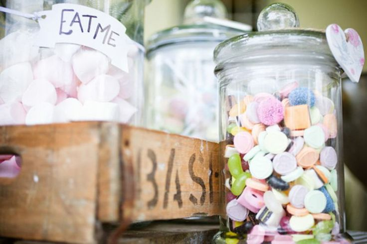 If you want to opt out for serving dessert at your wedding- having a sweet table is a great idea- and the kids will love it! #wedding #sweets #inspiration