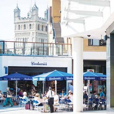 Win a hamper stuffed full of Italian goodies from Carluccio's at Princesshay in Exeter