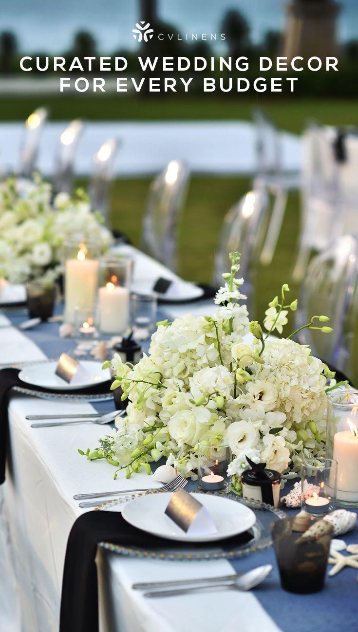 Faux Burlap Table Runner Navy Blue Summer Wedding Colors Blue