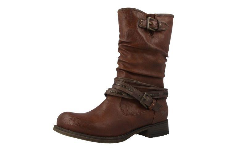 MUSTANG - Damen Stiefel - Braun Schuhe in Übergrößen – Bild 1