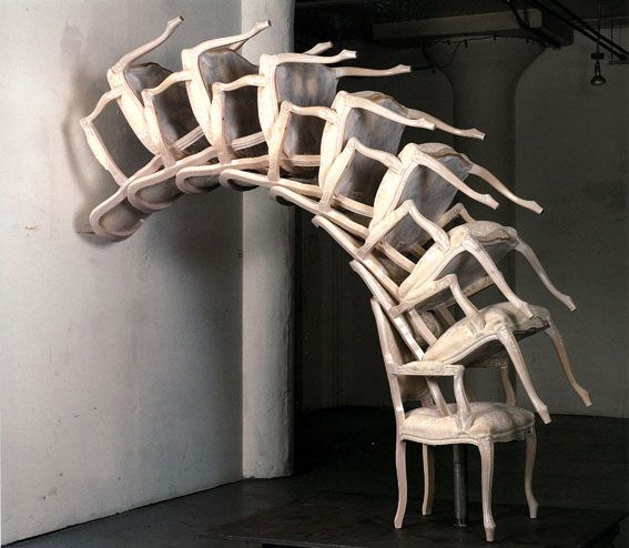 Arman – Spinal Cord, 1996