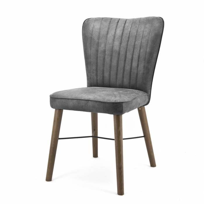 Stoel Chiba Jackson antraciet  Description: Deze Eleonora Stoel Chiba Jackson heeft een elegant design. Deze stoel kun je gebruiken als eetkamerstoeldoet het ook goed in de woonkamer of op kantoor. De stoel is uitgevoerd met eikenhouten poten en heeft een comfortabele zitting en rugleuning. Vanwege zijn eenvoudige vormgeving past deze stoel in haast elke interieurstijl. Hij komt vooral goed tot uiting in een moderne en landelijke stijl. Je kunt de Stoel Chiba Jackson ook makkelijk combineren…