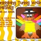 With this activity your students are going to have lots of fun creating a cute turkey and practicing their writing skills!The little ones are go...