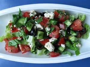 Le Chef Pierre D'Iberville: Salade grecque à la feta