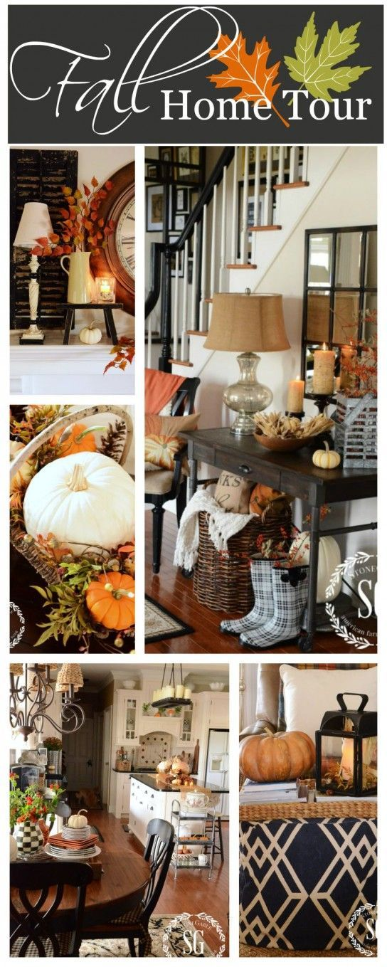 FALL HOME TOUR Lots of seasonal ideas, lots of room and lots of pictures!