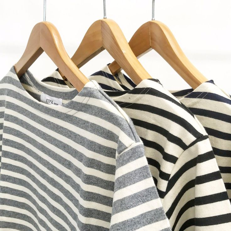 """""""👕ベビーウェイトの マリンボーダーT  セントジェームスやオーシバル がユニフォームとして使われるよう ガシガシ洗ってもオッケー。 私、年中着てる。私の制服。  メンズ、レディース、キッズあり  #バスクシャツ"""""""