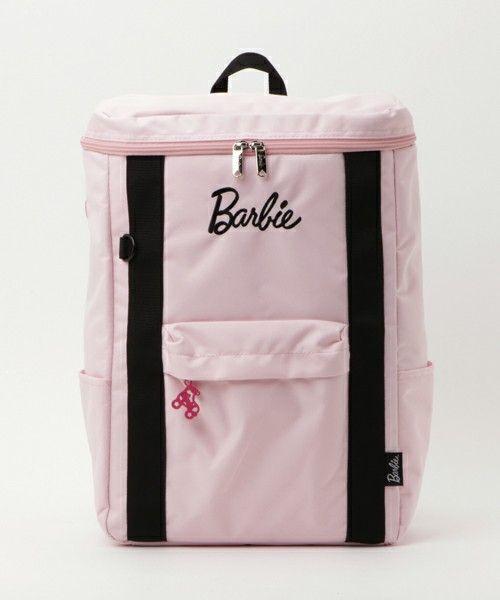 Barbie(バービー)の【Barbie】 バービー デミシリーズ リュック スクエアタイプのデイパック / 59263(バックパック/リュック) ピンク