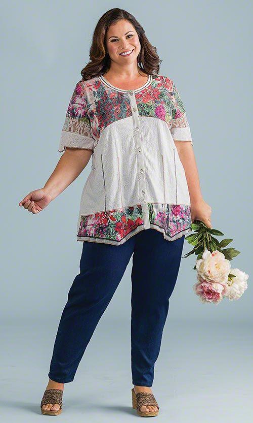 Wilshire Tunic / MiB Plus Size Fashion for Women / Spring Fashion  http://www.makingitbig.com/product/5127