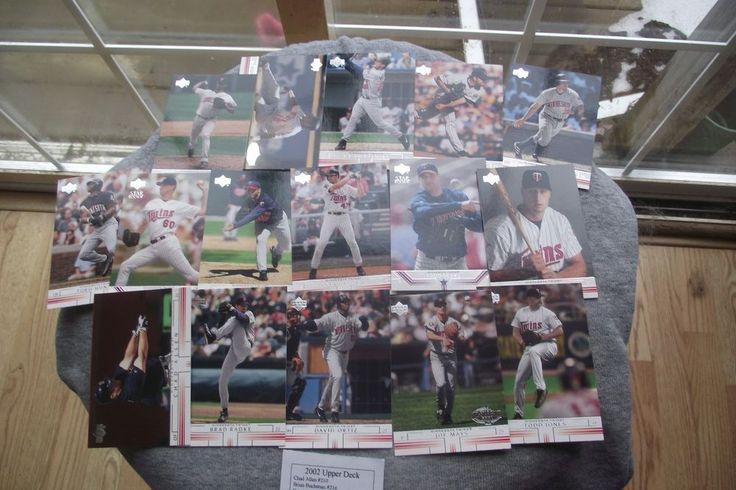 2002 Upper Deck Baseball Cards (16 cards in total)  | eBay