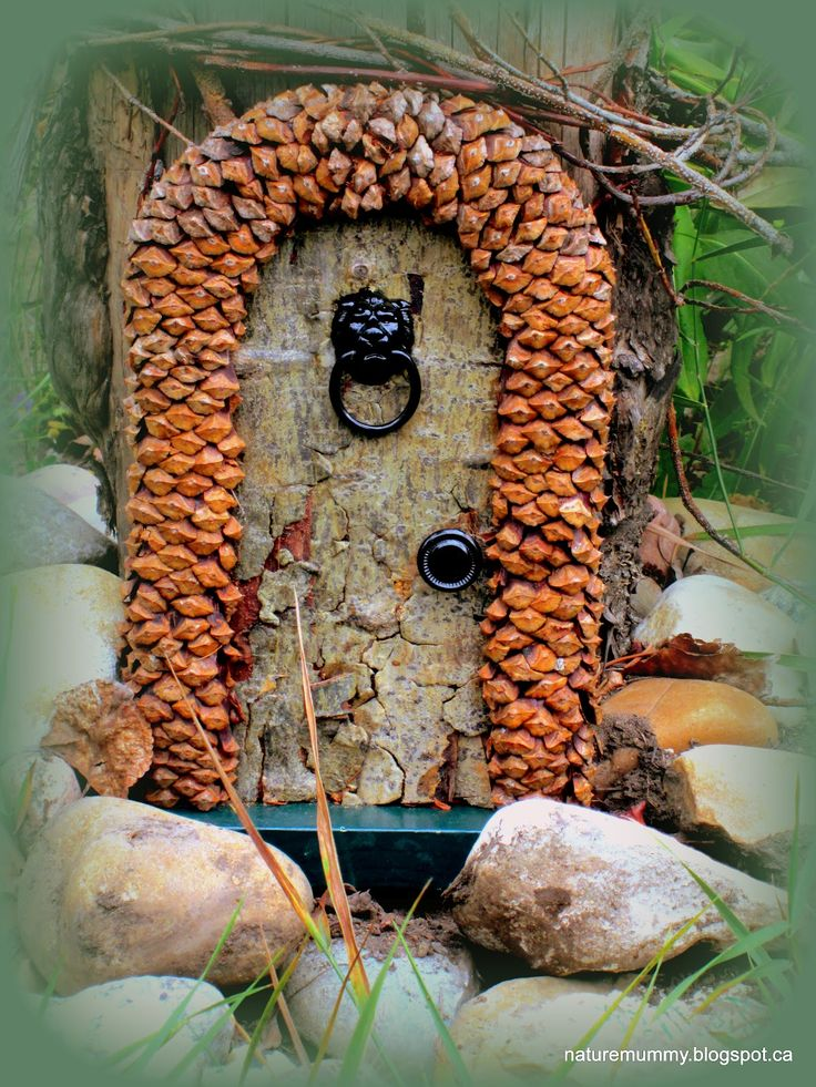 487 best images about little fairy homes on pinterest for Idea behind fairy doors