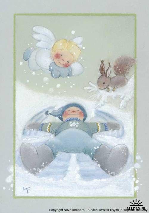 Детский иллюстратор Kaarina Toivanen (Финляндия )