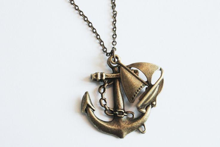 ☂ Alle Mann an Bord! ☂.....Kette von ☂ FELIDEE by Karamboola ☂ auf DaWanda.com