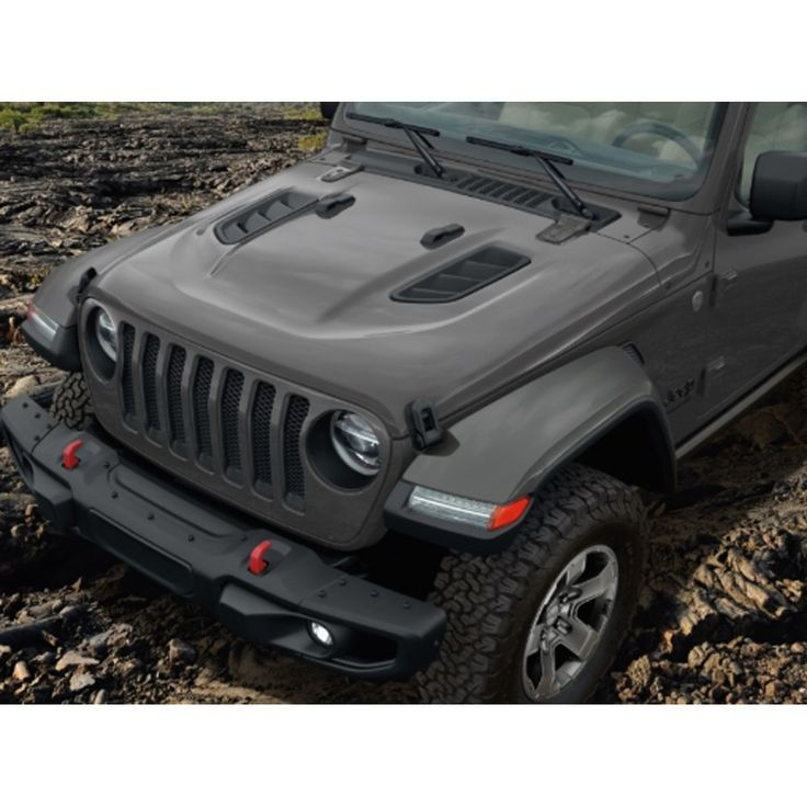 Mopar Rubicon Halogen Light Fender Flare Paintable Kit