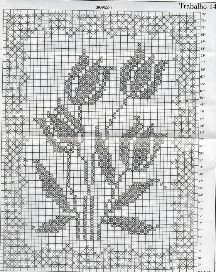 Patrones de cortinas: tecnica del ganchillo - Las Manualidades