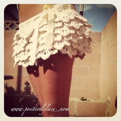 The White Russian Ruffle Skirt