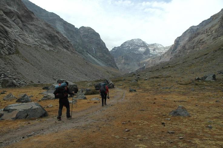 Parque Cordillera Yerba Loca, Region Metropolitana, Chile.