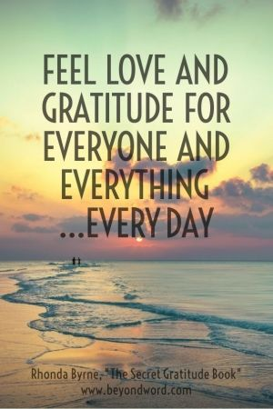 Gratitude creates the space to bring more of what you do want whether it be health, happiness, more abundance, relationships, career....you fill in the blank!