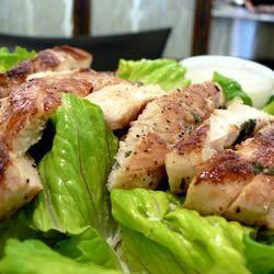 Lime Grilled Chicken Caesar Salad Allrecipes.com