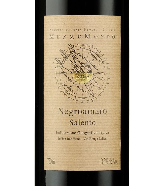 Mezzomondo - Negroamaro Salento (Italy)  Very affordable but still enjoyable!