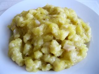 Slovenské halušky se zelím - bez lepku, mléka, vajec   Pro Alergiky