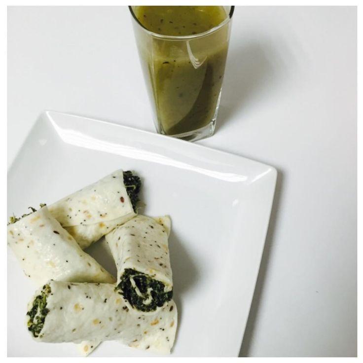 """""""Marmita fácil e eficaz •••••• > 2 Wraps de espinafres e claras de ovo > Creme (palavra mais gourmet para sopa relada ) de alho francês, courgette, nabo…"""""""