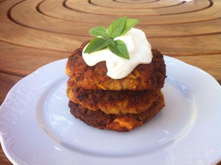 Kolokithokeftedes (Fried Zucchini Balls or Courgette) #recipes #meze www.mygreekdish.com
