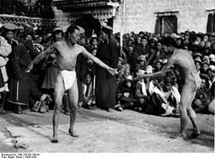 Wrestling - Wikipedia, the free encyclopedia: Combat Sports, Grappl Hold, Grappl Types, Involvement Grappl, Wrestling Bout, Clinch Fight, Free Encyclopedias, Sports Involvement, Competition