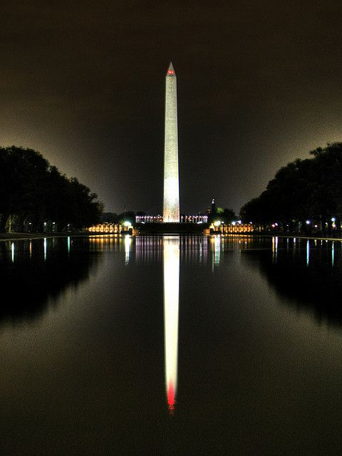 *Washington Monument Reflection. Photo by Kevin Borland  -  where I spent most of my growing up years!  Beautiful city!