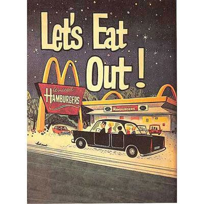 Image result for mcdonalds old ad family