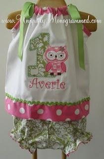 like the outfit. Not the owl. Kinda creepy