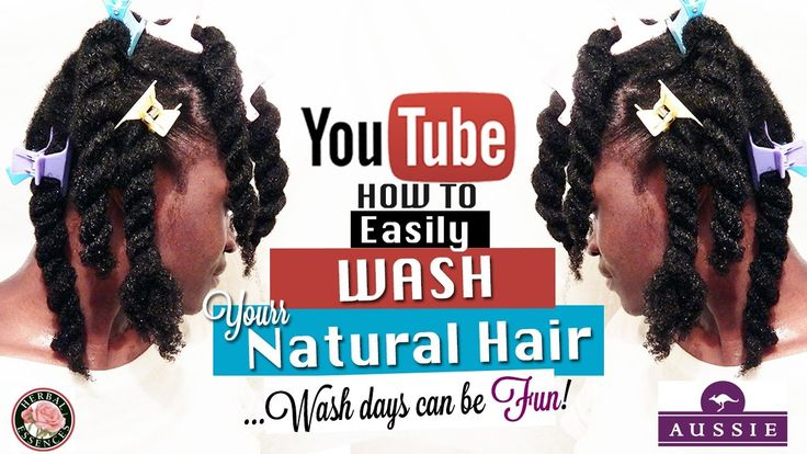 Natural Hair Wash Day Routine | My Wash Day Routine on Natural Hair