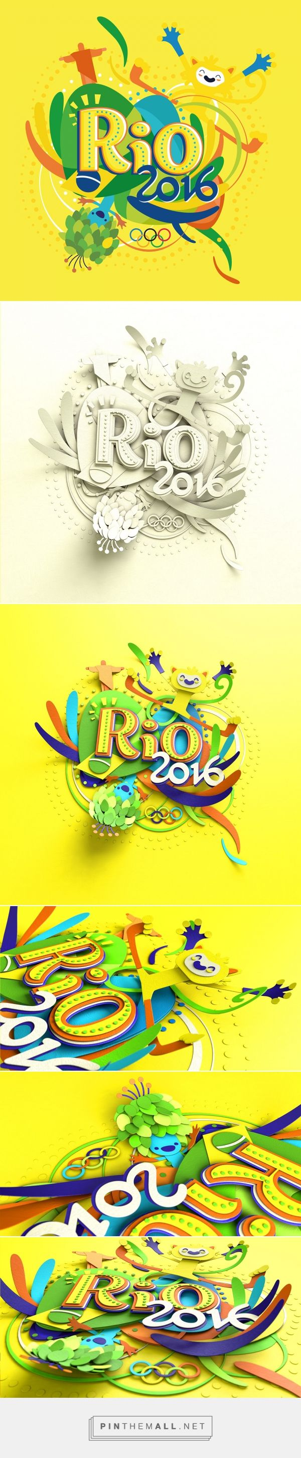 Olympic rings logo rio 2016 olympics logo designed by fred gelli - Inspirado No Rio 2016 Design On The Rocks A Grouped Images Picture See More Ouidtk Womens Rio 2016 Olympic Basketball Logo