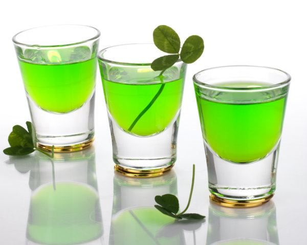 Sweet and nostalgic, this super easy Jello shot is s fun way to get the party started this St. Patrick's Day!