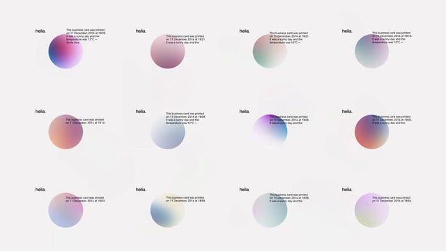 Original music and sound design for Helia, the data, analytics, digital and CRM arm of Havas Worldwide.