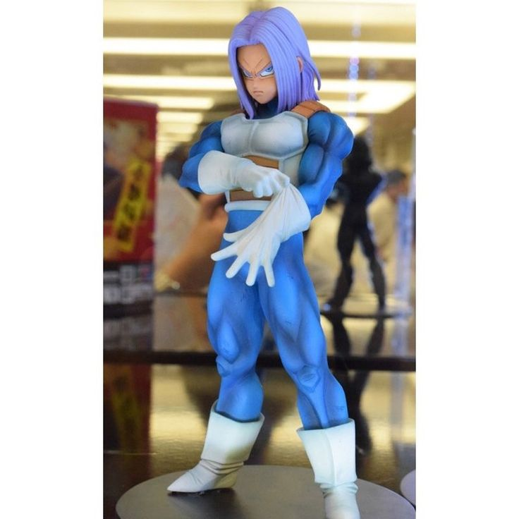 24.70$  Buy here - http://ali0nr.shopchina.info/go.php?t=32793594430 - Dragon Ball Z Trunks Action Figure Resolution of Soldiers Vol.5 Trunks Model Toy Figuras DBZ Super Saiyan Figure Original  24.70$ #buychinaproducts