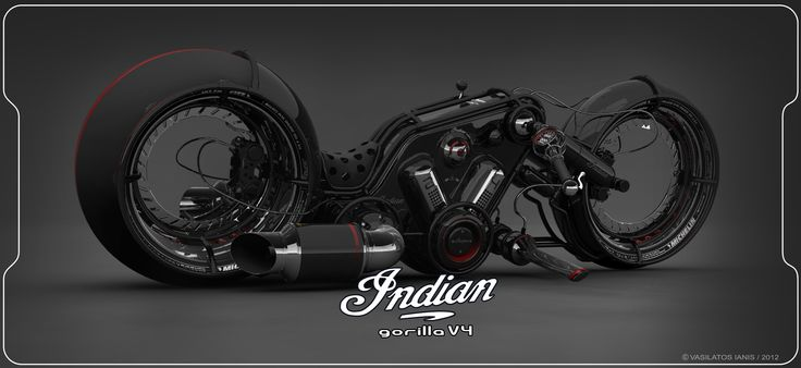 indian gorilla v4 full (black)