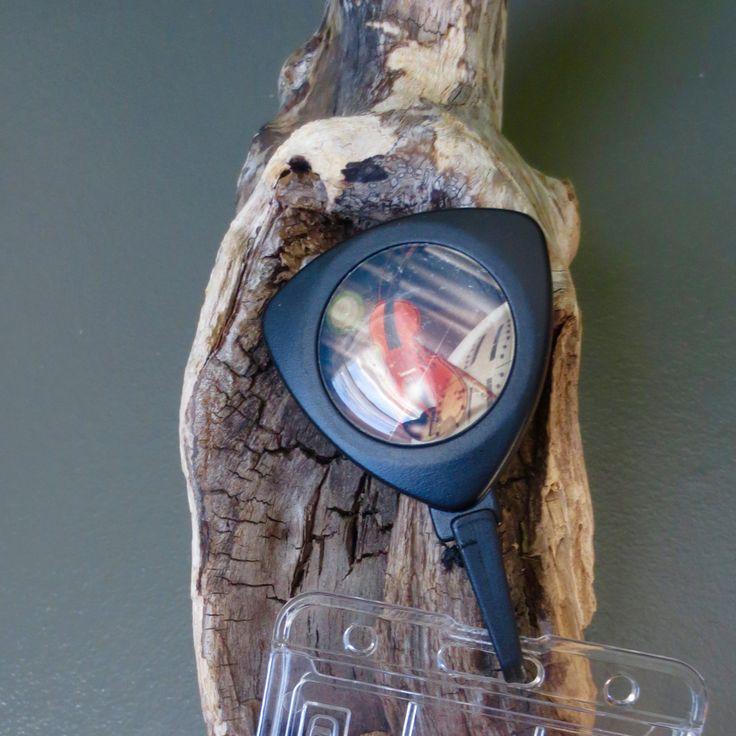 Porte-insigne rétractable, carte d'employé, identification, enseignant, infirmière, clés. de la boutique Creationlacordeaucou sur Etsy