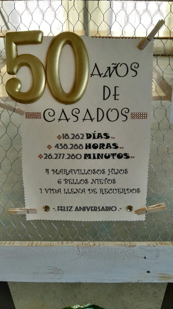 Las 25 Mejores Ideas Sobre Aniversario De Oro En Las 25 Mejor 50th Year Wedding Anniversary 50th Wedding Anniversary Party 50th Wedding Anniversary Decorations