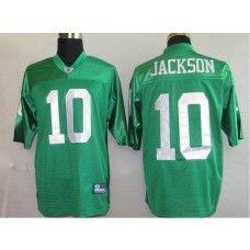 Eagles #10 DeSean Jackson Stitched 1960 Throwback Green NFL Jersey