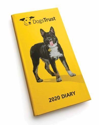 Dogs Trust Slim Diary 2020 In 2020 Dogs Trust Dog Calendar Dog