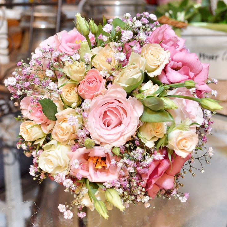 Tavaszi csokor / Spring flower bouquet