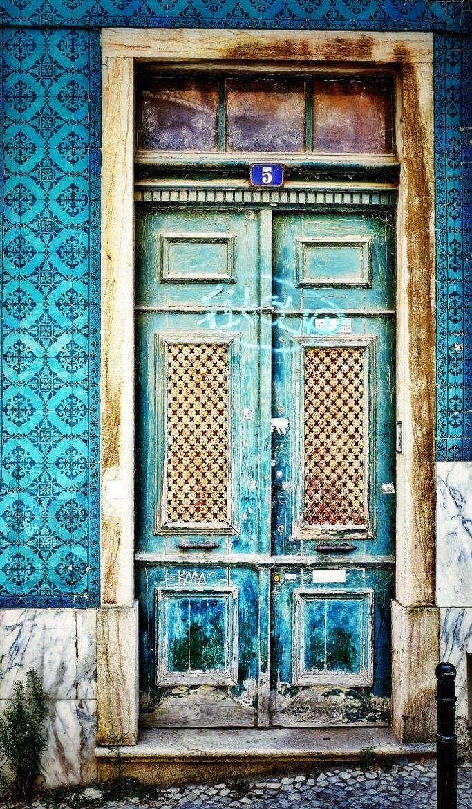 Lisbon, Portugal door