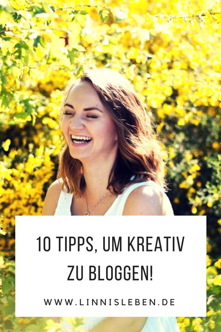 Kreativität beim Bloggen ist das A und O. Lest euch jetzt meine 10 Tipps durch, wie ihr tolle Beiträge verfassen und sammeln könnt!